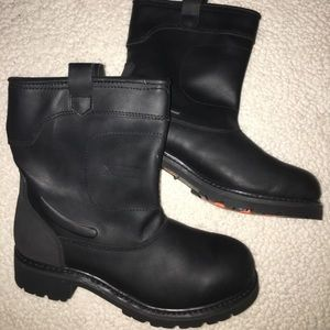 Other - Motorcycle boots/ steel toe boots